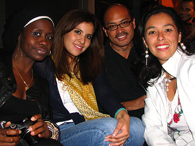 Debbie, Daniela, Miguelito and Laura