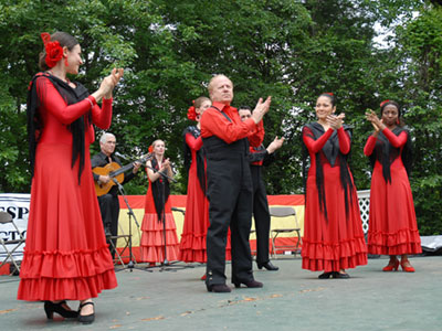 Suspiro Andaluz at the DC Feria de Sevilla at Strathmore.