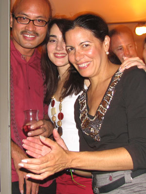 Miguelito, Paula and Patricia
