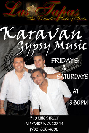 Karavan Gypsy Music promotional poster